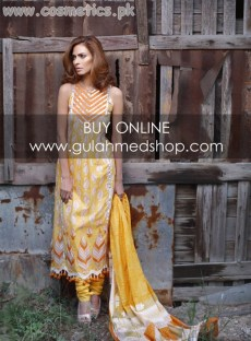 Gul Ahmed New Lawn Prints For Summer 2012 Volume 2 020