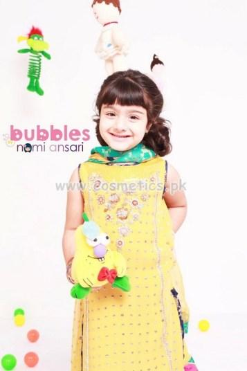 Nomi Ansari Latest Eid Dresses 2012 For Kids 005