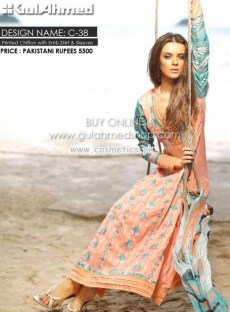 Gul Ahmed Latest Lawn Collection For Mid Summer 2012-13 003