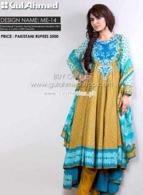 Gul Ahmed Latest Lawn Collection For Mid Summer 2012-13 016