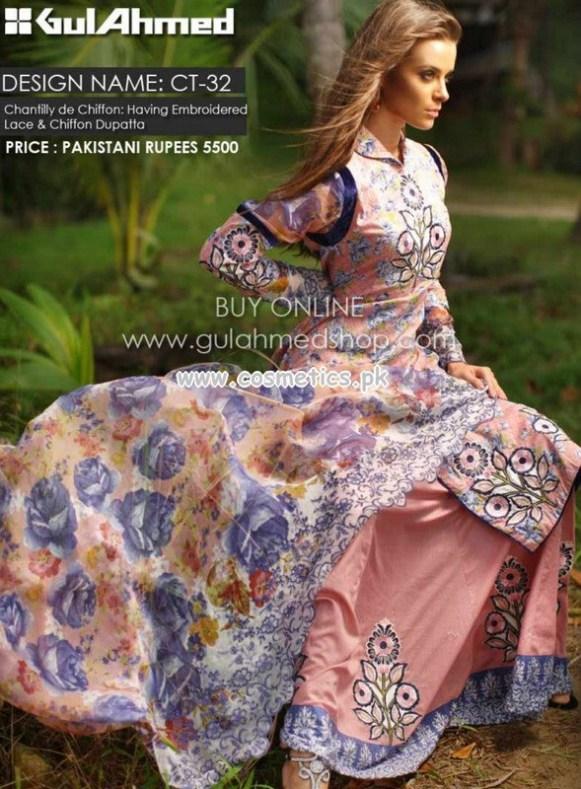 Gul Ahmed Latest Lawn Prints For Women 2012-13 022