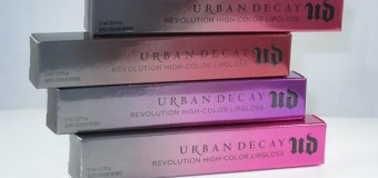 Urban Decay Lip Gloss Collection 2015, Swatches, Review