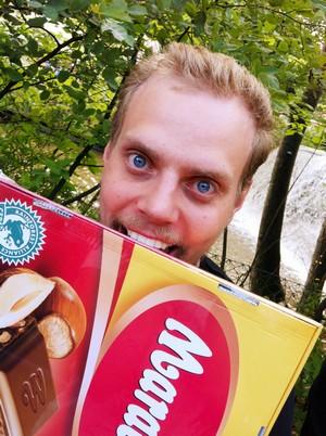L är chokladsugen...