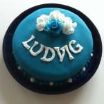 En blå prinsesstårta! :) Länk