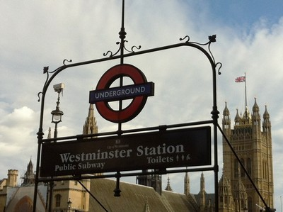 Westminister Abbey-stationen.