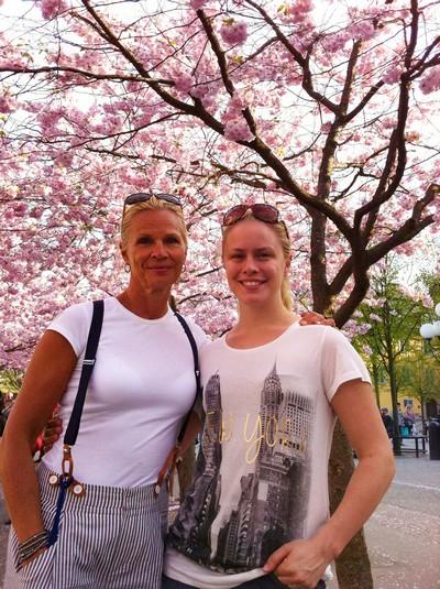 Mamma och jag...