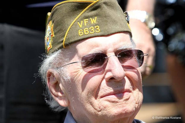 Ernest Angelos, WW II Veteran honored