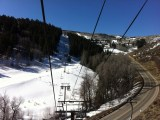 Heading up to Bachelor Gulch