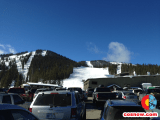 Parking at Monarch is no more than a few hundred yards from the slopes