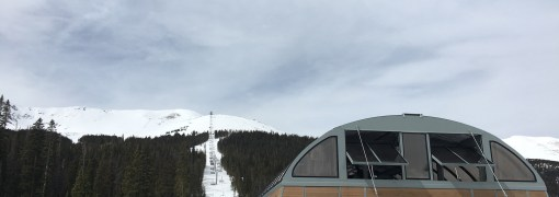 Peak 6 lift (Kensho) at Breck