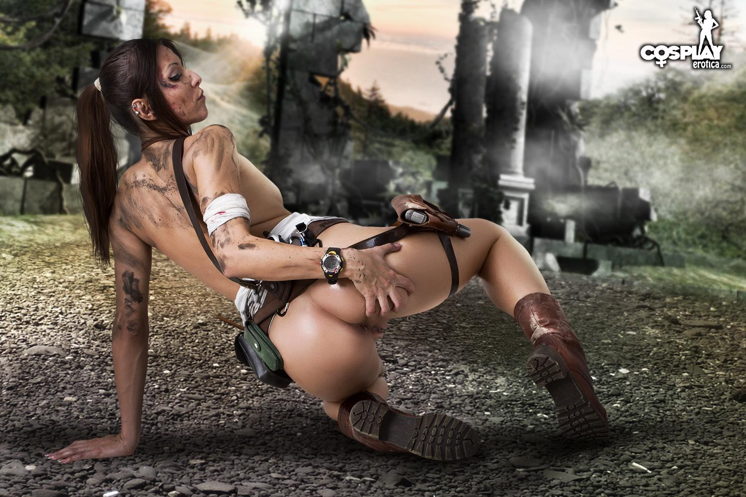 Lara croft erotic porn hentai photo
