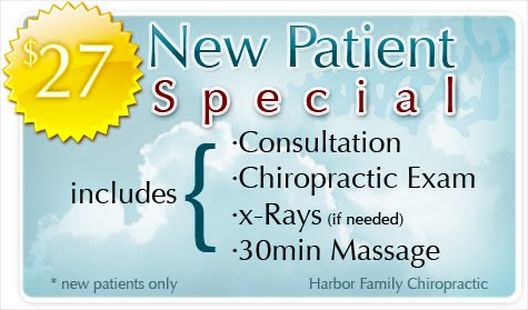 Harbor Family Chiropractic New Patient Special