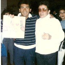 Con Hector Lavoe