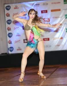 Lucía Jiménez, tuvo extraordinarias participaciones en el exterior