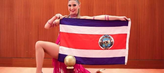 Costa Rica tiene campeona mundial de Salsa