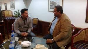 Aly Mancia de CR Salsa con Rey Ruiz