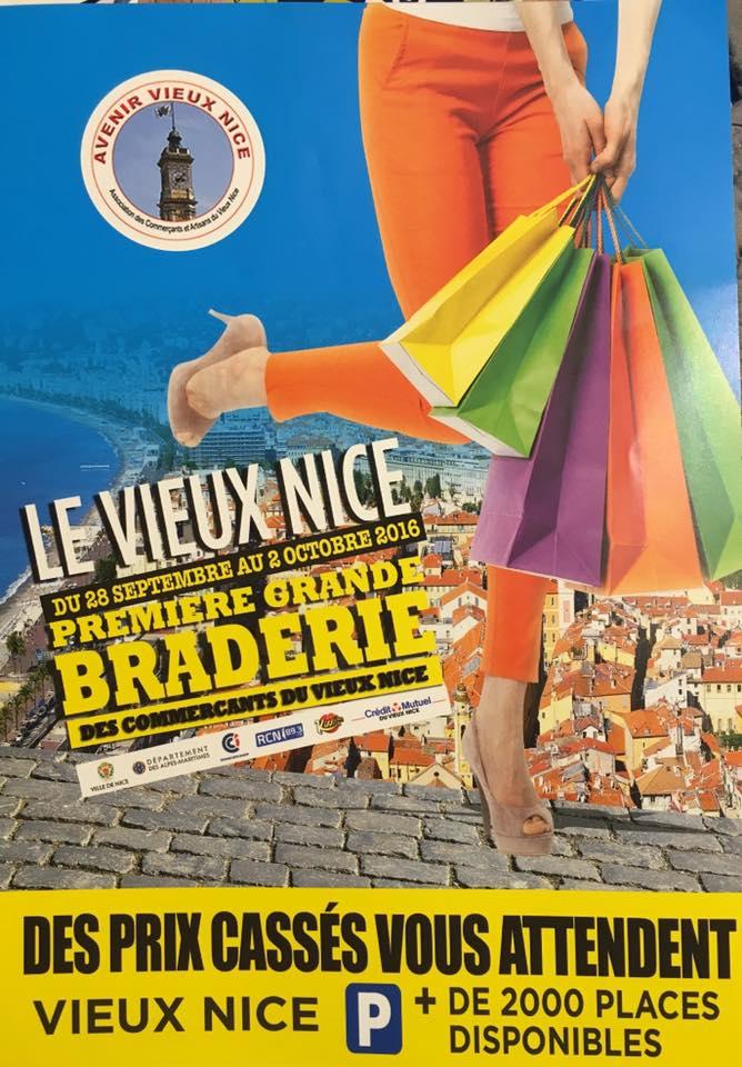 Gran mercadillo en la Vieja Niza