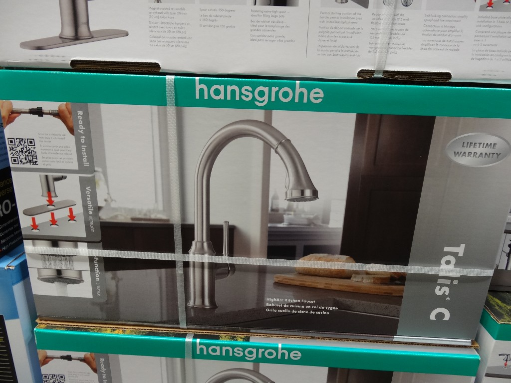 hansgrohe talis c kitchen faucet grohe kitchen faucets Hansgrohe Talis C Kitchen Faucet Costco