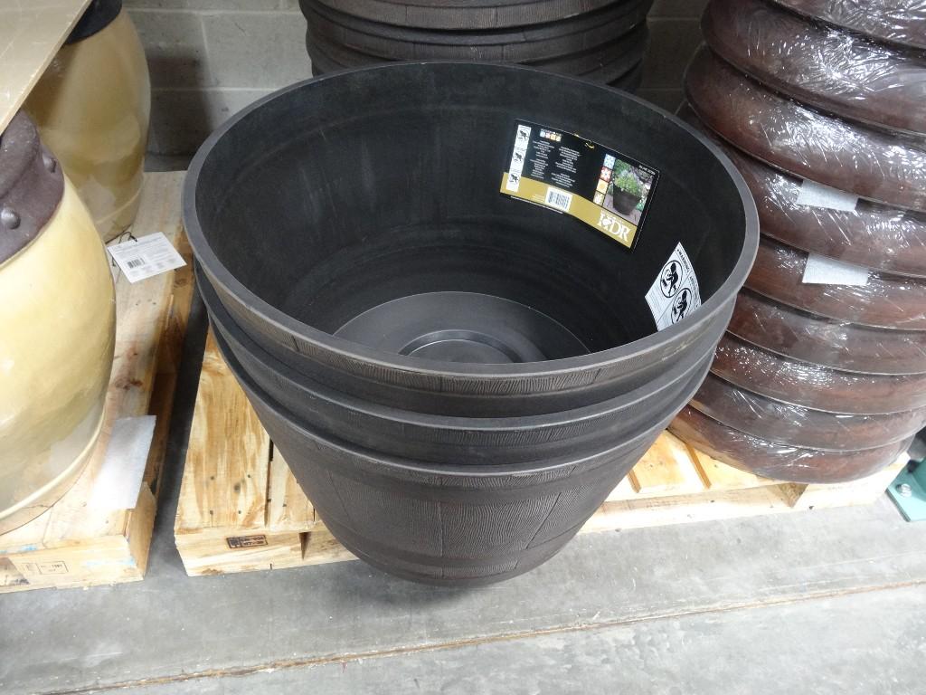 Fullsize Of Whiskey Barrel Planter