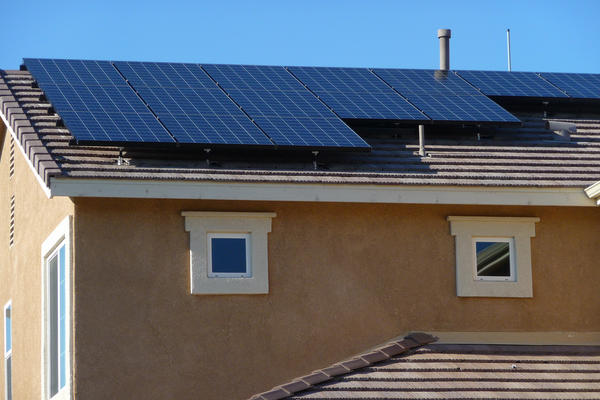 rooftop solar panels middle class