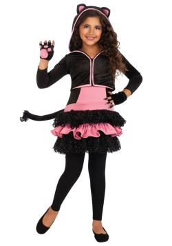 Small Of Black Cat Costume
