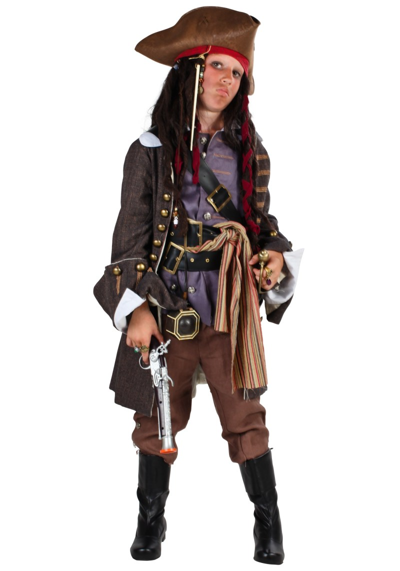 Large Of Kids Pirate Costume