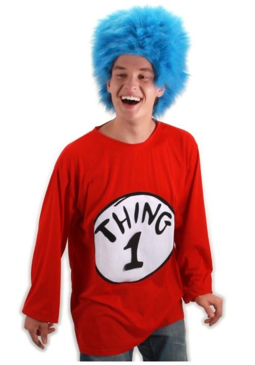 Medium Of Thing 1 Costume