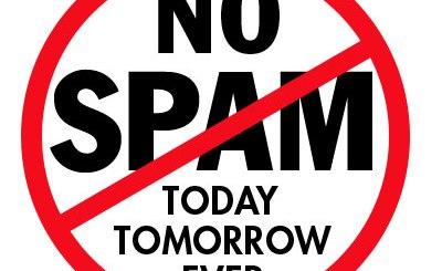 No Spam Logo