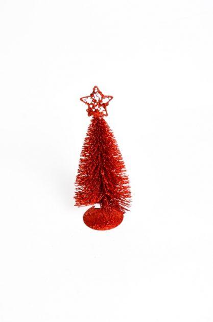 Arbol Alambre Mediano Rojo 25 cm