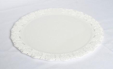 Bandeja Redonda Plastica para Torta N*27. De 20 cm Diametro