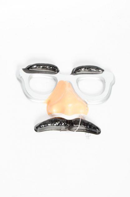 Antifaz plastico con bigote