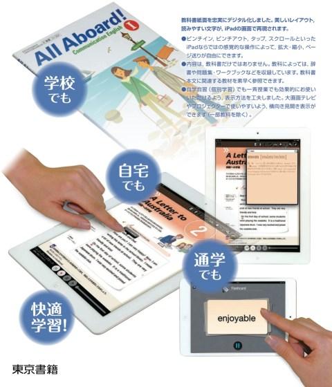 iPadで学ぶ 高等学校 デジタル教科書