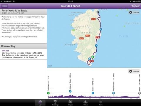Cycling News Tour Tracker
