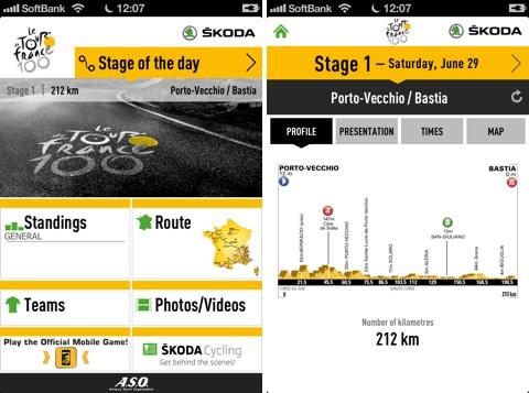 ツール・ド・フランス 2013 for iPhone/iPad