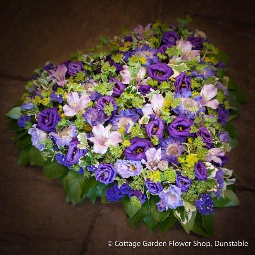 Blue & Purple Heart