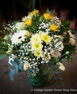 Yellow & White Vase