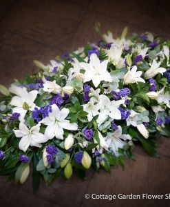 Lily & Lisianthus Spray