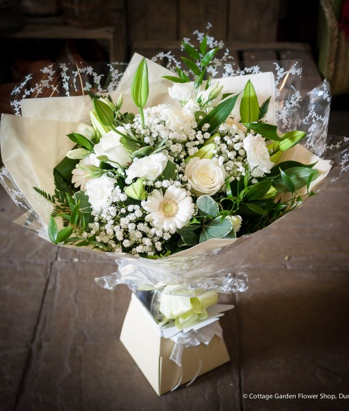 Radiant White Hand Tied