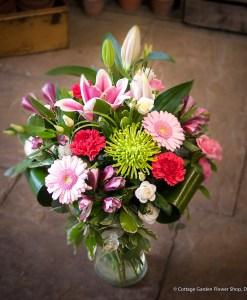 Pink & Lime Vase