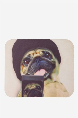 Genuine Neoprene Mouse Pug Selfie Neoprene Mouse Pad Photo Mouse Pad Nz Photo Mouse Pad Australia