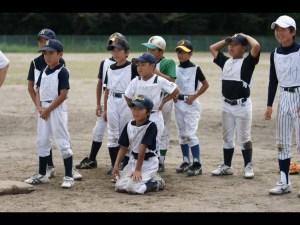 少年野球練習風景