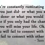 Stop Ruminating!