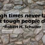 5 Things I've learned about tough times