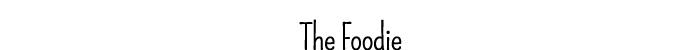 foodiefontfinal