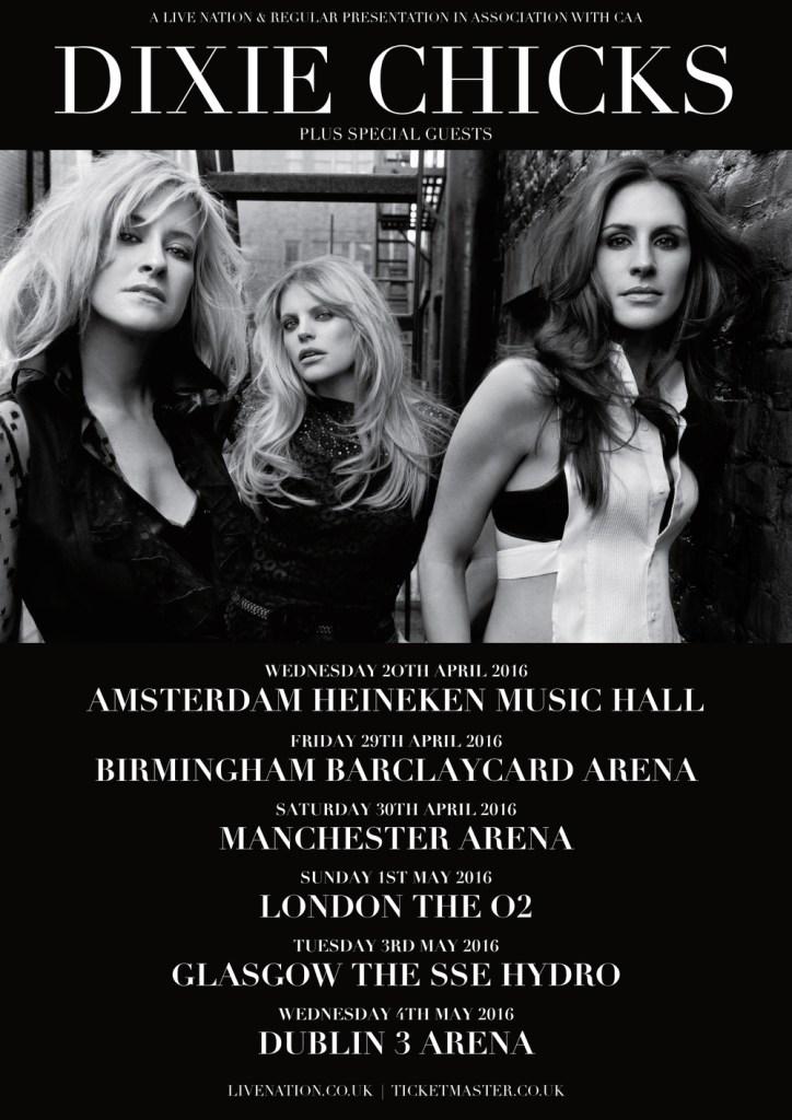 Dixie Chicks en tournée européenne