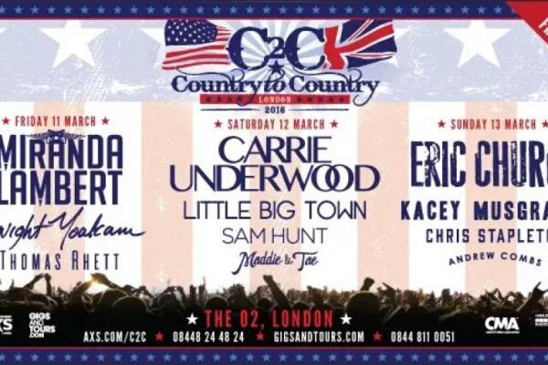 Revivez les meilleurs moment du festival country 2 country 2016