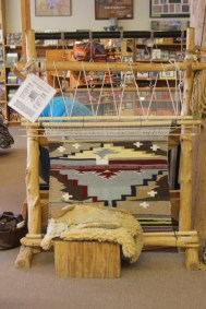 Hubbell Trading Post, métier à tisser Navajo