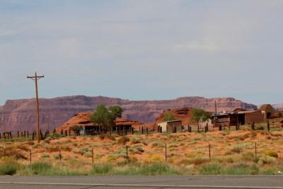 Villages Navajos aux alentours de Monument Valley