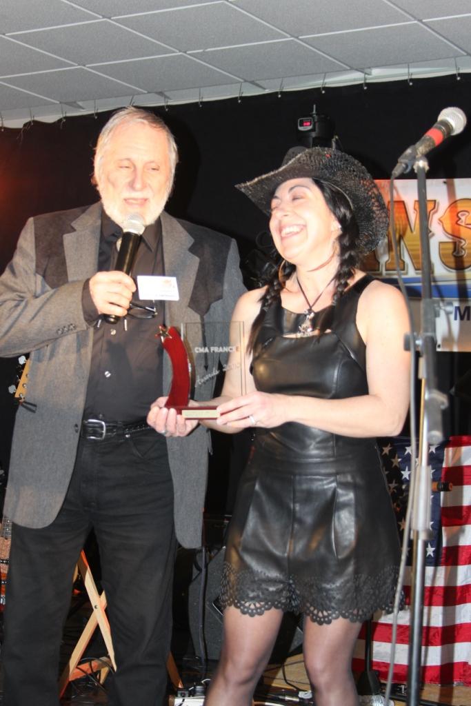 Sabrina De Filippo : Meilleure interprète féminine 2015