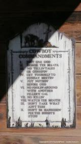 Les 10 commandements du Cowboy